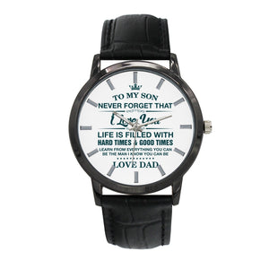 To My Son - Love Dad Watch