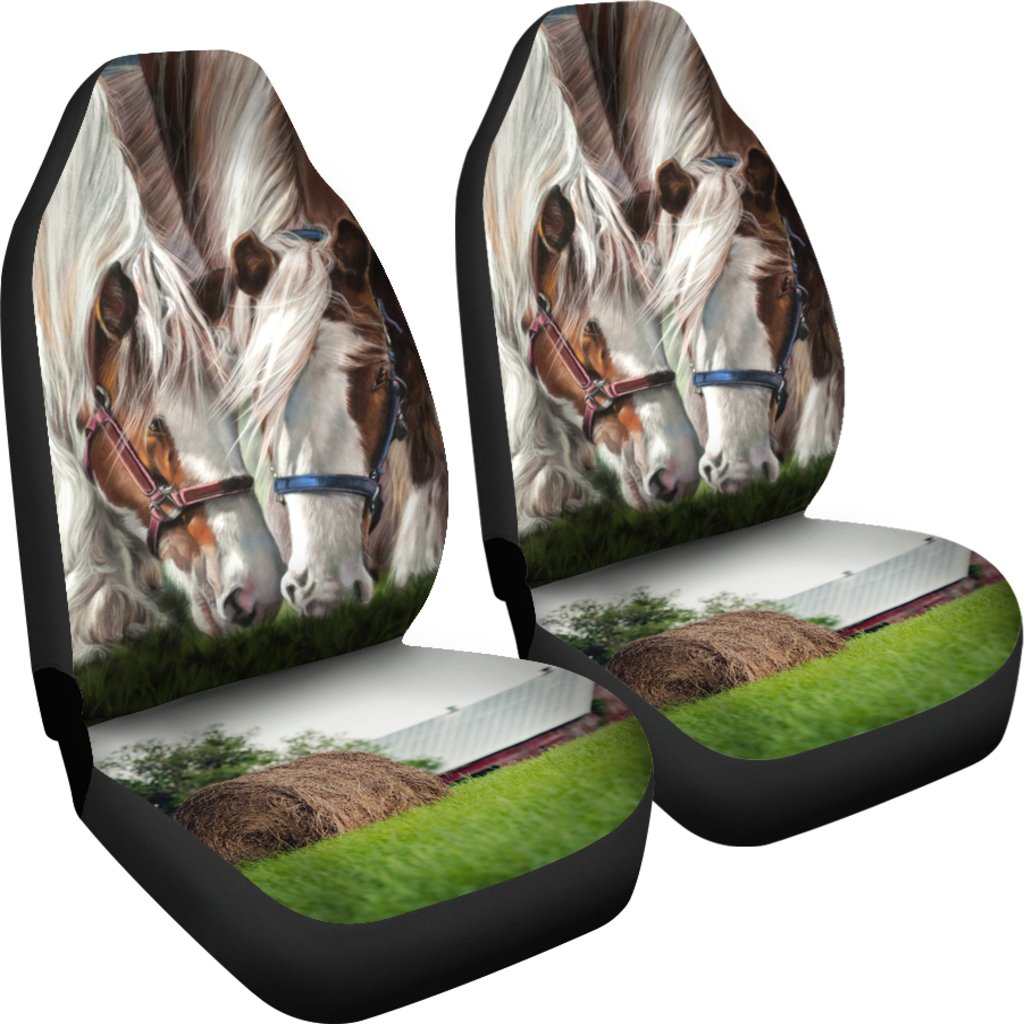 HORSE CAR SEAT COVERS
