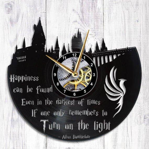 New Arrival Dumbledore Quote Clock
