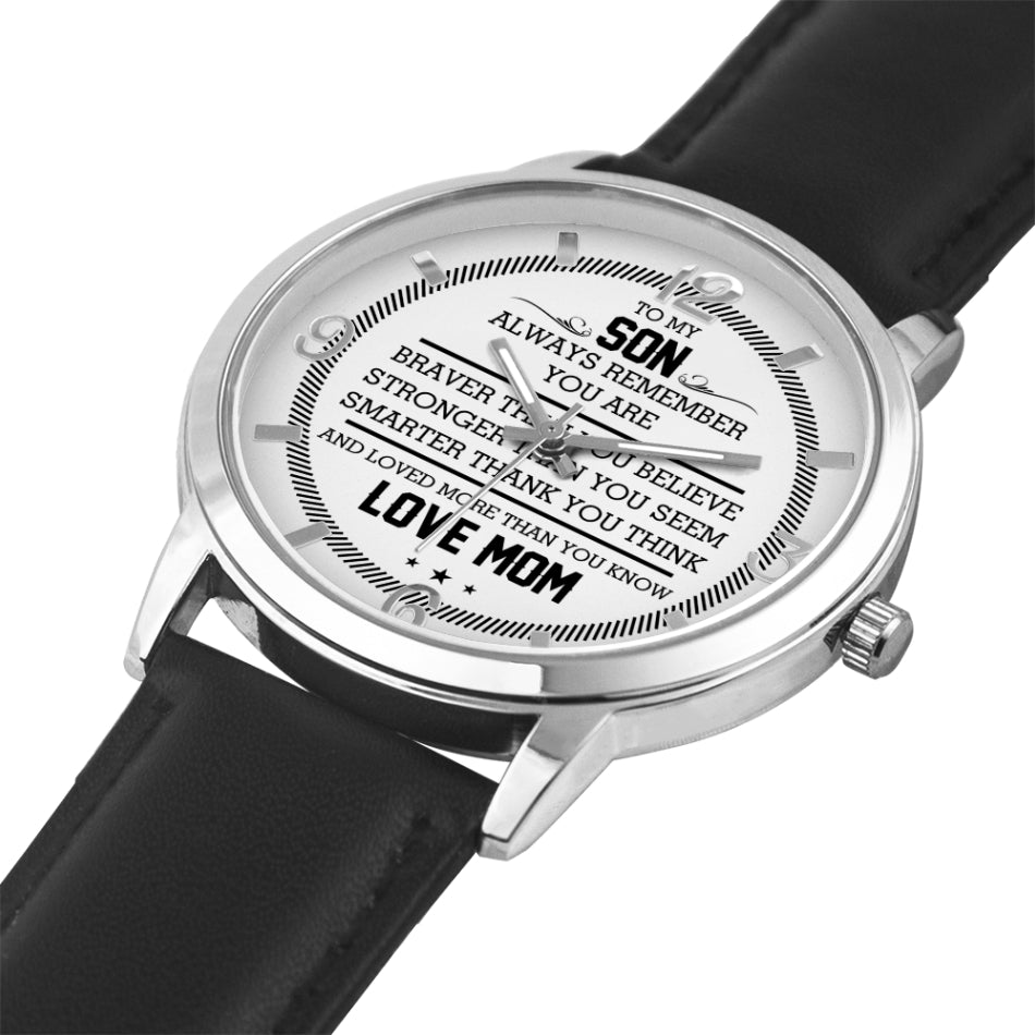 To My Son - Love Mom Watch