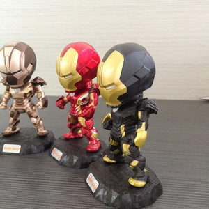 Hot 2017  Iron Man with 6 Action Figure