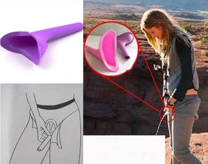 Portable Female Resin Convenient Field Urinal Camping Hiking Outdoor Accessory