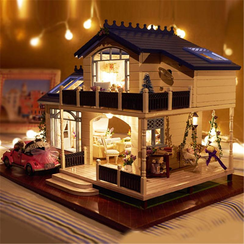 Hot Christmas Gift House Toy with Furnitures for your daughters