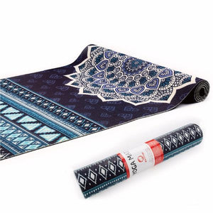 6mm Yoga Pads Fitness Mat PVC Material with Yoga Bag
