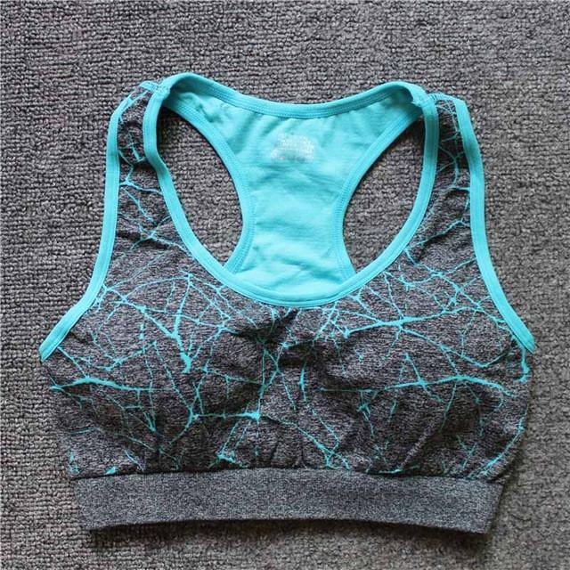 Breathable Seamless Underwear Yoga Running Tops