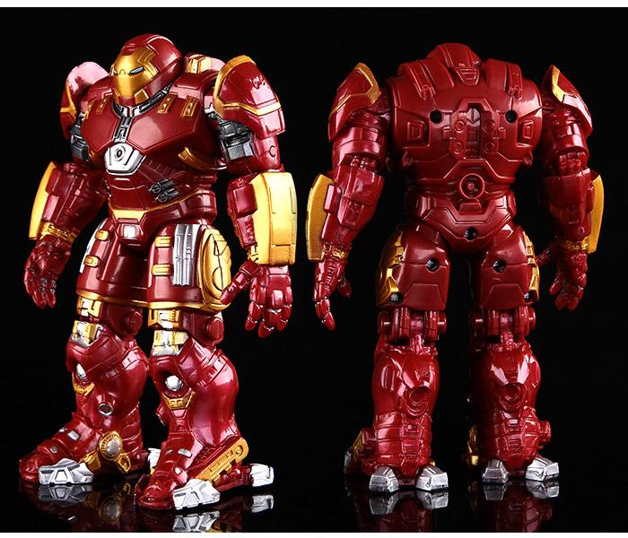 New Arrival  Iron Man 18CM Hulkbuster With LED Light