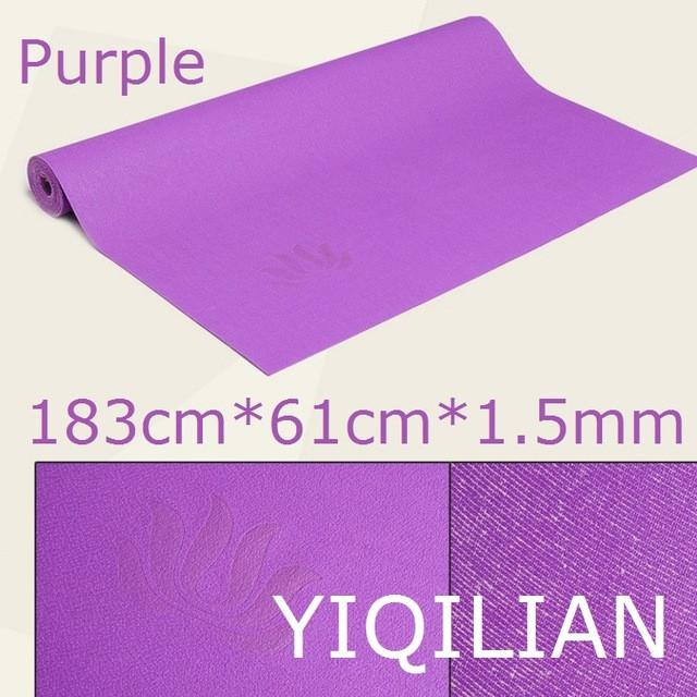 Natural Rubber slip-resistant yoga mat  1.5mm folding ultra-thin
