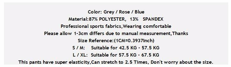 2017 Women Sports Yoga Pants