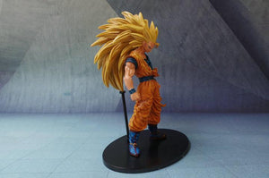 New Arrival 21CM Dragon BALL Z  Super Saiyan 3 SON GOKU  Figure