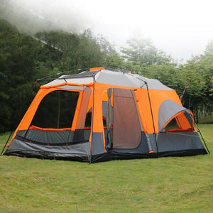 High quality one hall two bedrooms outdoor camping tent