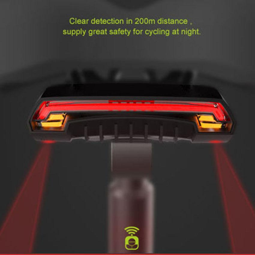 New Arrival Wireless Bike Bicycle Rear Light Laser - Turn Right/ Left Light