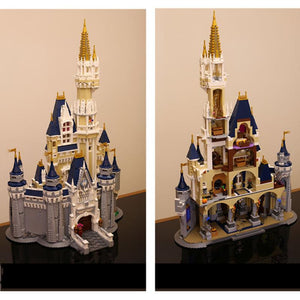 Hot 2017 Christmas Gift Cinderella Princess Castle with 4160Pcs