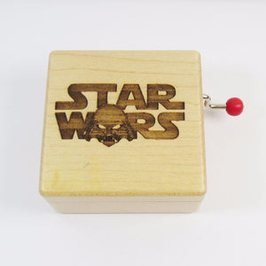 Hot 2017 Christmas Gift Star Wars music box with extra Gift