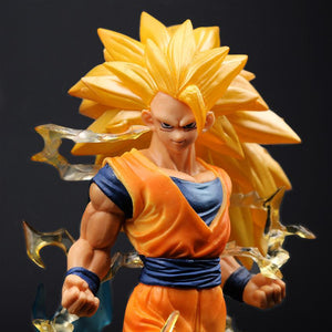 New Arrival Dragon Ball Z 18cm Super Saiyan 3 Son GokuFigures