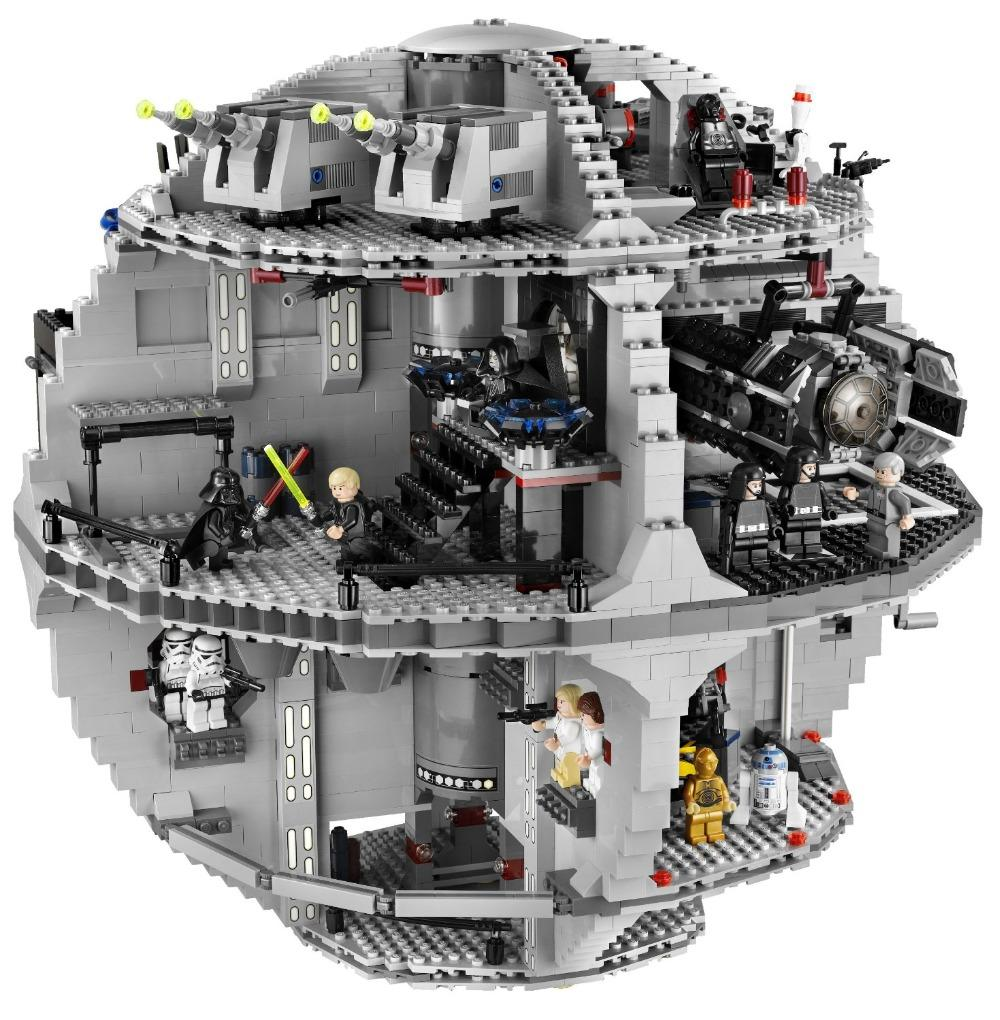 Hot 2017 Christmas Gift Star Wars Death Star with 3804pcs