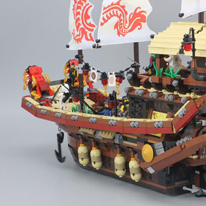 Hot Christmas Gift 2017 Ninjago Pirate Dragon Ship with 2455 PCs
