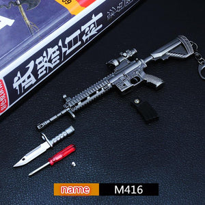 Playerunknown's Battlegrounds  M416 Keychain