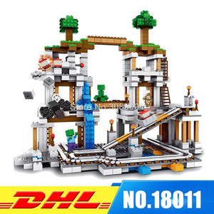 New Arrival 2017 Minecrafted Building Block with 922 Pcs