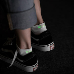 Hot New Arrival Glow In The Dark Socks Lurex