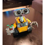 New Arrival Robot WALL E for Children with 687 Pcs