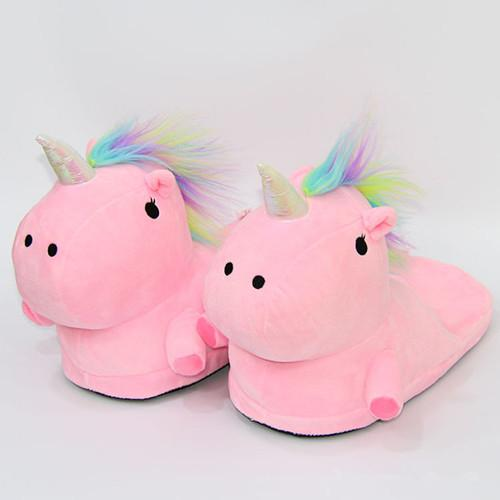NewUnicorn Slippers Winter Warm Home Women Shoes