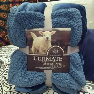 Luxurious Large Warm Thick Blanket - Fuzzy Microfiber All Season Plaid for Bed or Couch