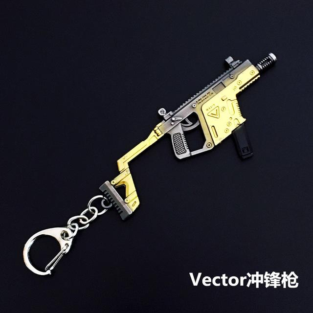 New PUBG Weapons Model Keychain