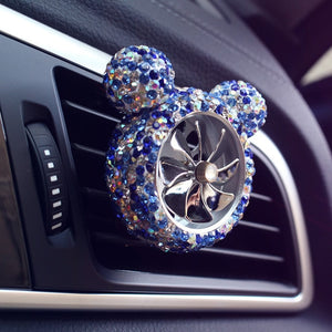 Crystal Car Outlet Vent clip air freshener perfume