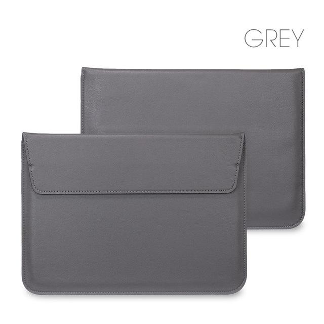 New Arrival New Leather Sleeve Protector bags For Apple Macbook