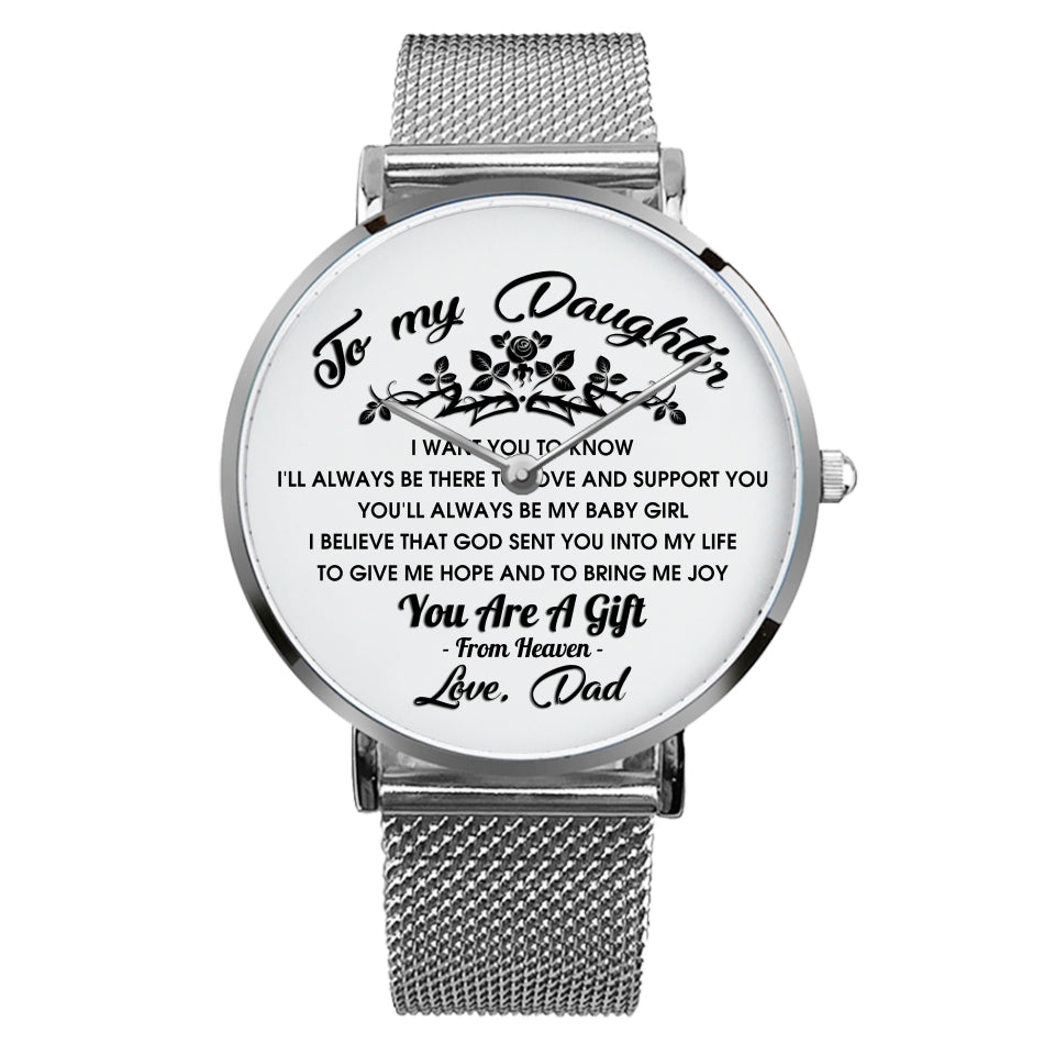 'To My Daugher - Love, Dad' Watch