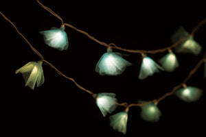 Blue Tulle Recycled String Lights