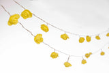 Yellow Rose String Lights