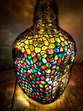 Old Monk Bottle Lamp