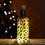 Black and Bronze Recycled Bottle Lamp