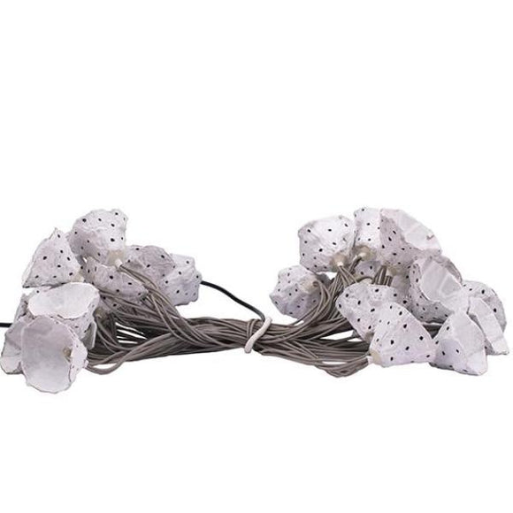 White Eggshell Recycled Lights