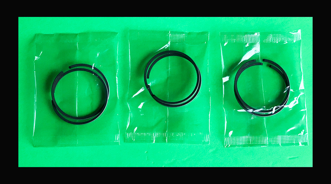 Kawasaki S1 KH250 Piston Rings x3 Sets STD. 1972 1973 1974 1975 1976+ 13008-33