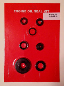 Honda CB175 CL175 CD175 SL175 Engine Oil Seal Kit