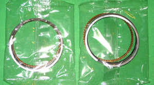 Honda CB400 CM400 Piston Rings Set x2 CB400T Hawk STD. 1978 1979 1980 1981 !