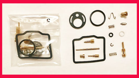 Honda CB200 CL200 Carburetor Rebuild Kit x2 1974 1975 1976! Carb