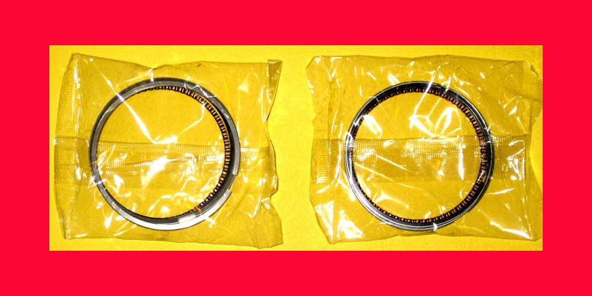 Honda CB360 CL360 CJ360 New STD. Piston Rings x 2 Sets 1974 1975 1976 1977