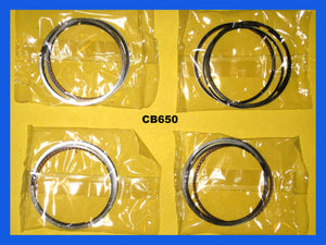 Honda CB650 Piston Rings Set x4pc 1979 1980 1981 1982 Standard Size STD.