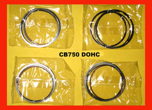 Honda CB750 Piston Ring Set x4 Standard 1979 1980 1981 1982 1983 DOHC 750