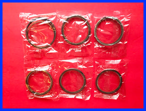 Honda CBX 1000 Piston Rings Set x6 STD. 1979 1980 1981 1982 Motorcycle CBX1000