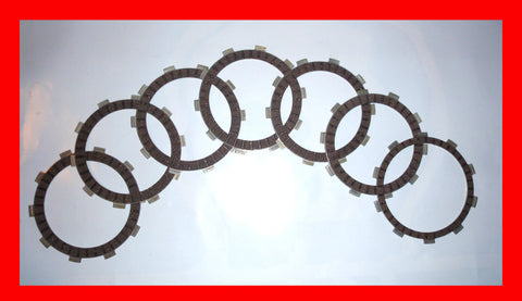 Honda CB400F CB400 Clutch Friction Disc Set Four 400/4 1975 1976 1977 Motorcycle
