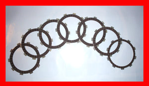 Honda CB350F CB350 Clutch Disc Friction Plate Set 1972 1973 1974