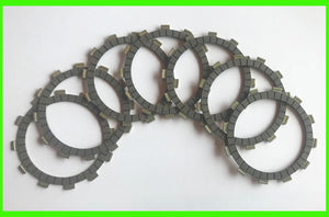 Yamaha YZ250 YZ400 IT400 Clutch Friction Disc Set 1976 Motorcycle 7pc 250 400