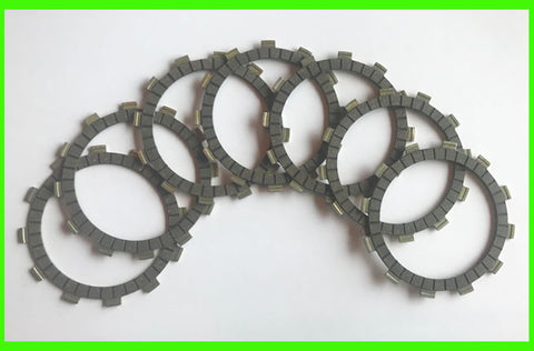 Yamaha DT360 MX250 MX400 Clutch 1974 1975 Friction Disc Set Motorcycle 7pc