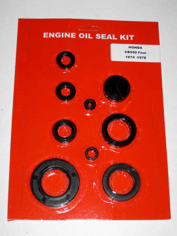 Honda CB550F 550 Four Oil Seal Kit 1974 1975 1976 1977 1978