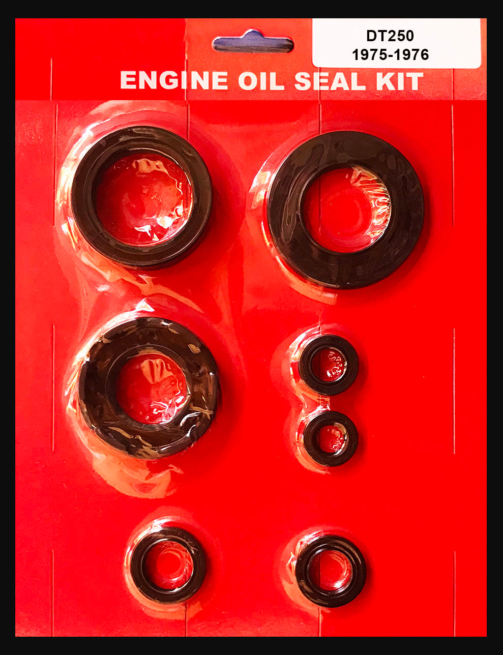 Yamaha DT250 Oil Seal Kit 1975 1976 Crank Case Shift Kick Clutch Sprocket DT 250