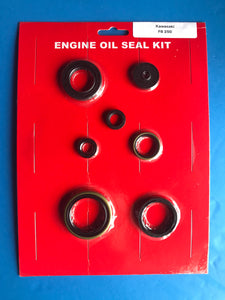 Kawasaki F8 Engine Oil Seal Kit Bison 250 1971 1972 Crank Clutch Kick Shift Seal+